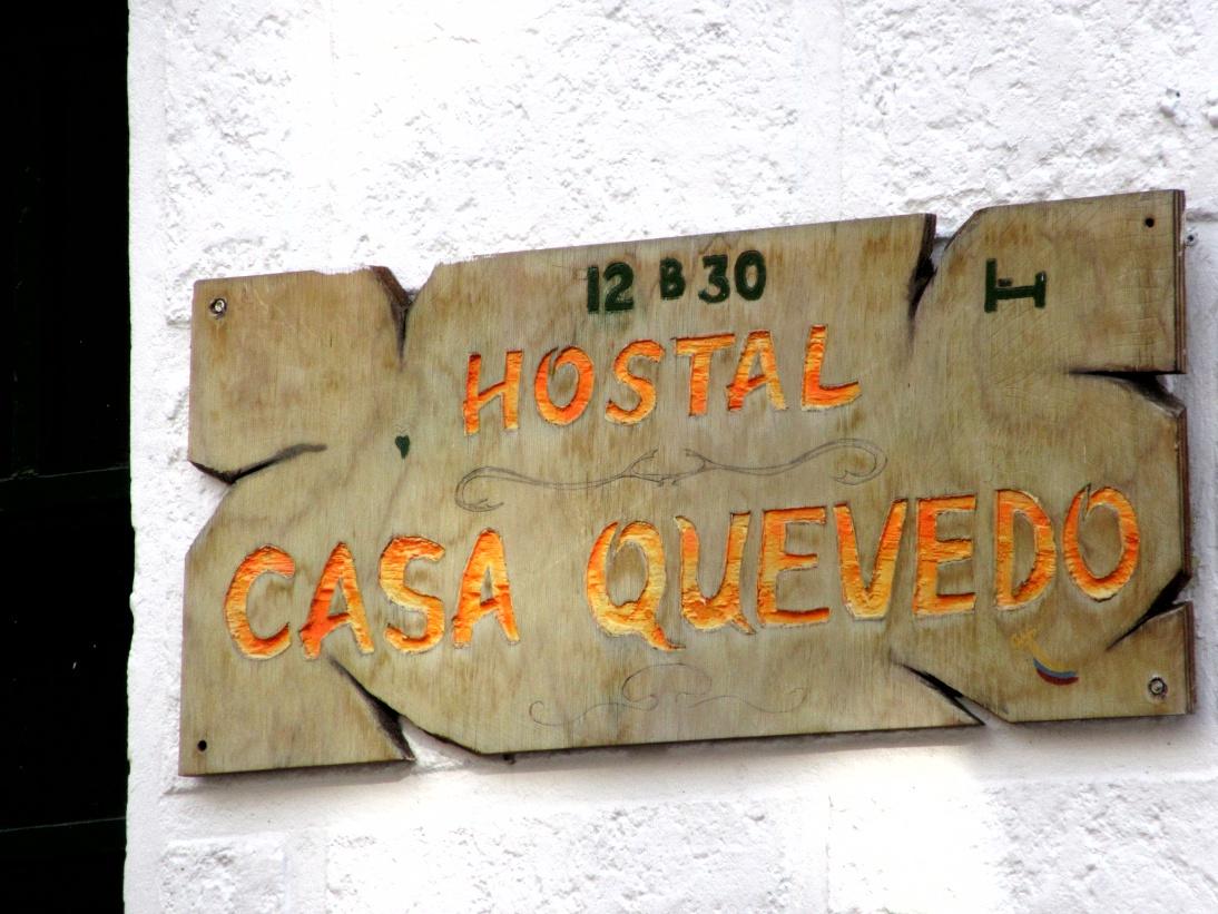 Der erste Tag in Bogota